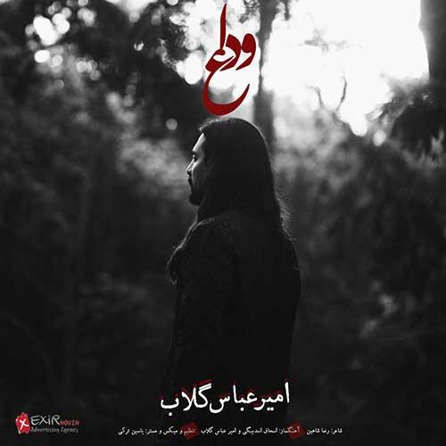 اهنگ وداع از امیر عباس گلاب